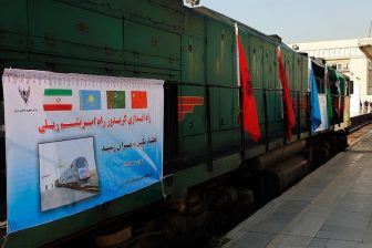 Train on the New Silk Road