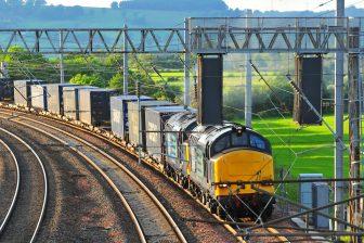 Rail freight hubs. Image: Network Rail
