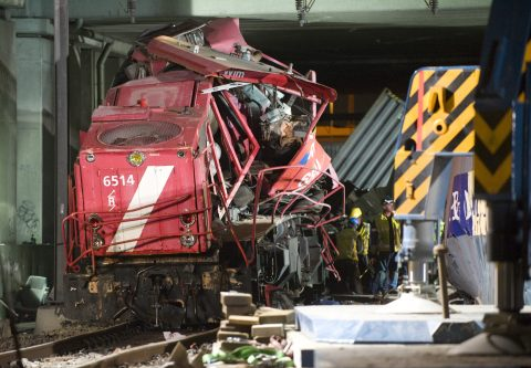 DB Cargo accident Barendrecht, image: ANP