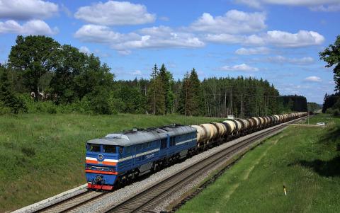 rail freight, Latvia, LdZ