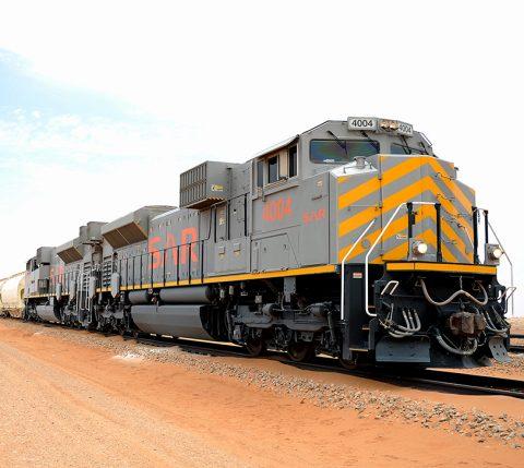 SAR freight train in Saudi Arabia - SAR