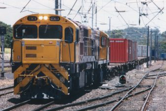 Aurizon multimodal train in Queensland. Photo credit: Luke Cossins