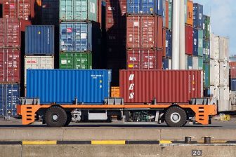 Containers at Port of Rotterdam. Photo credit: Alf van Beem