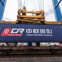 China Railway Express container. Photo: JF Hillebrand
