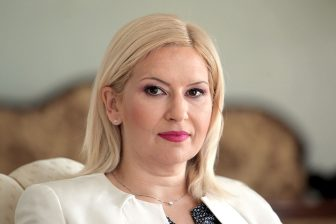 Serbia's Minister of Construction, Transport and Infrastructure, Zorana Mihajlovic