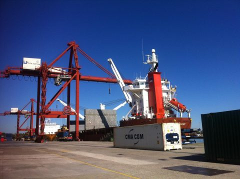 Port of Sevilla. Photo credit: Port of Sevilla