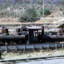 An old locomotive from Caminhos-de-Ferro de Moçâmedes. Photo credit: Peter Bagshawe