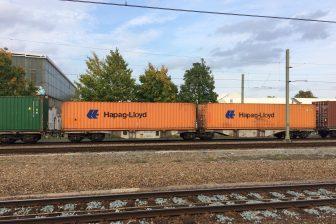 Freight train in Tilburg