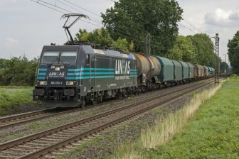 Lineas freight train. Photo credit: Rob Dammers