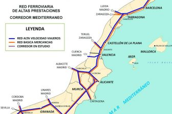 Mediterranean Railway Corridor. Photo credit: Spanish Government