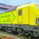 New Vectron locomotive of TX Logistik. Photo credit: Alpha Trains