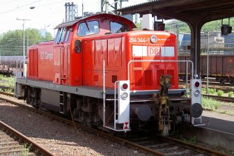 DB Cargo locomotive. Photo credit: Alf van Beem