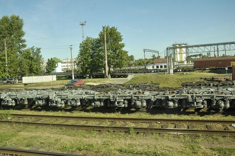 Gauge changing in Brest, Belarus