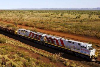 Rio Tinto's autonomous freight train