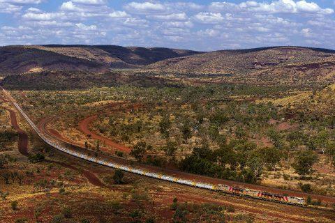 Rio Tinto freight train