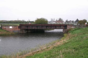 Bridge in Vernatts Drain. Source: Network Rail