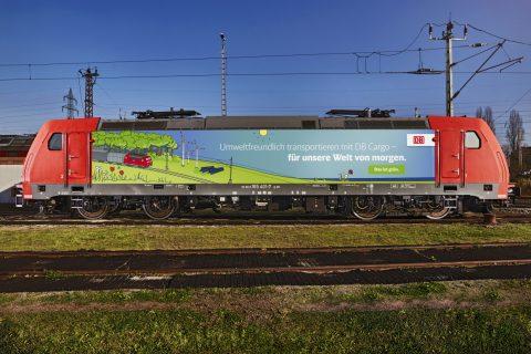 Das ist grün: DB Cargo senkt weiter CO2 Emissionen