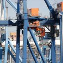 Maritime Transport Crane Port Of Castellón