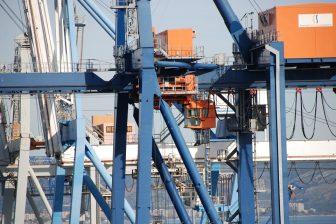 Maritime Transport Crane Port Of Castellón