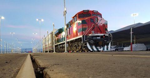 A Ferromex locomotive