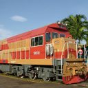 Cuban freight train. Photo: Ricardo Medina