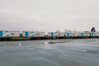 Ekol block train. Photo: Ekol