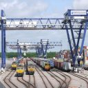 Felixstowe Port. Photo: Network Rail