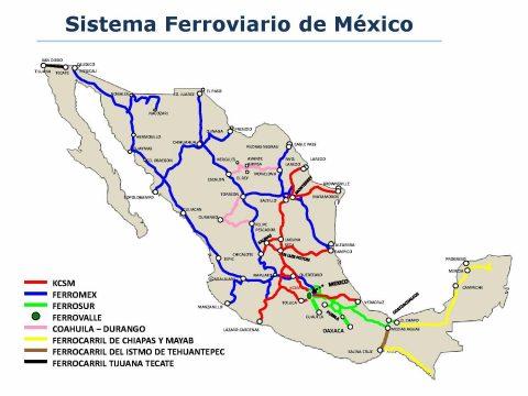 Mexican rail freight landscape