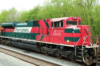 Freight train of Mexican railway operator Ferromex. Source: Ferromex