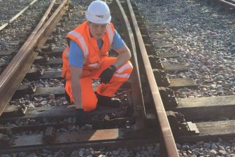 Stpehen Stokes, apprecentice at Network Rail. Photo: Network Rail