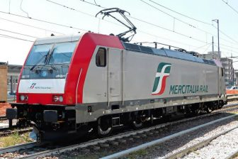 Italian rail freight line