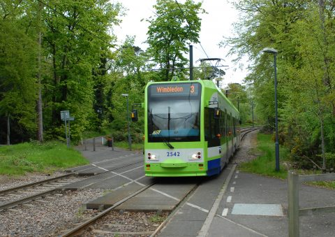 A tram of the network Tramlink in Londen, picture: Transport for London