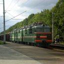 Freight train in Brest region. Photo: Dima Sugonyaev