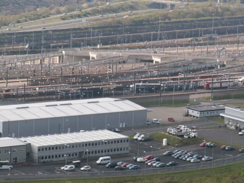 Eurotunnel terminal in Dover. Photo: Commons Wikimedia