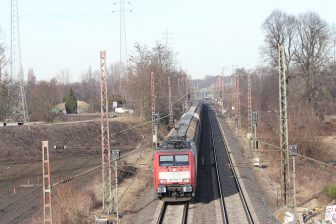 Freight train in Oberhausen