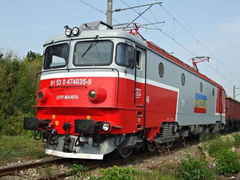 CFR Marfă freight train. Photo: Mihai Stefanescu