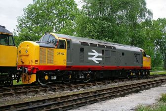 British freight locomotive. Photo: Roger Carvell