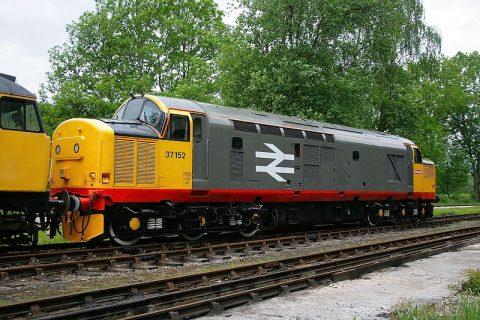 British freight locomotive. Photo: Roger Carvell