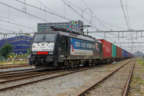 Freight train between Tilburg-Chengdu. Photo: Flickr