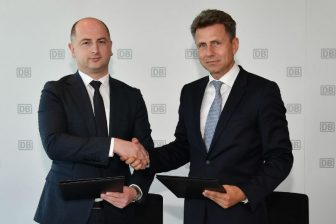 Partnership deal between Deutsche Bahn and Georgian Railways. Photo: Deutsche Bahn