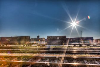 Rail freight at the Cabooter Group terminal in Venlo. Photo: Cabooter Group