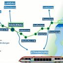 Rastatt-Haguenau line. Photo: Eurodistrict PAMINA