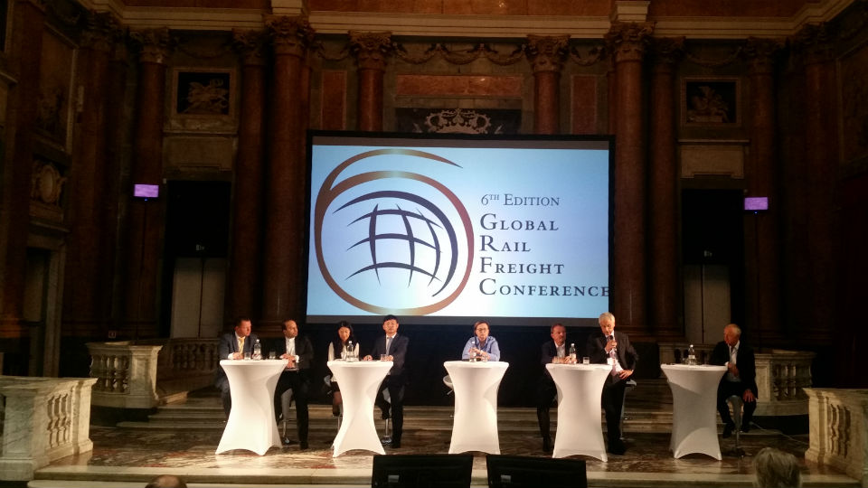 Silk Road session at the Global Rail Freight Conference