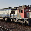 Freight train in Iran. Photo: Flickr