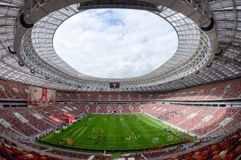 Luzhniki Stadium in Moscow. Photo: Wikipedia