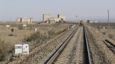Western most end of Northern Xinjiang Railway. Photo: Wikimedia Commons