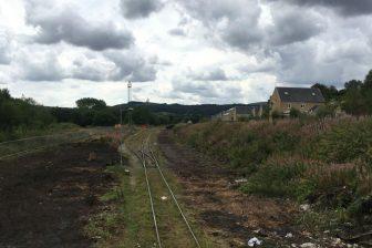 Buxton freight siding. Photo: Network Rail