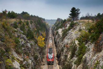 Divača-Koper railway. Photo: Slovenian government
