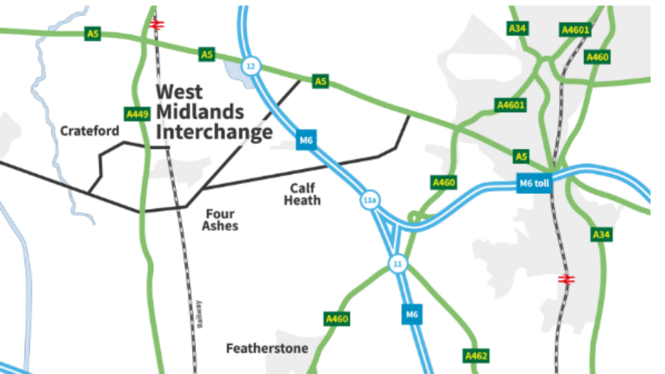 West Midlands Interchange. Photo: Four Ashes