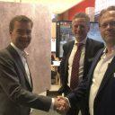 Partnerships signed at Innotrans. Photo: Strukton Rail
